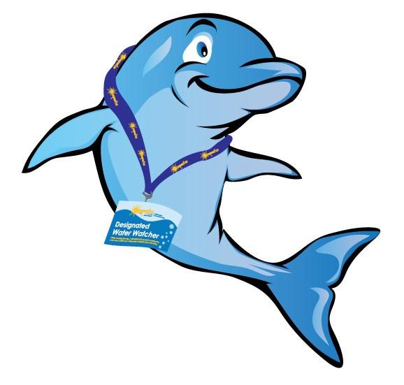 Mascota de los vigilantes del agua