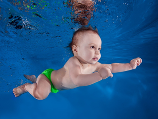 Why Children Under 3 Need to Wear Non-disposable Swim Diapers
