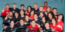 Enthusiastic Swim Teacher Group