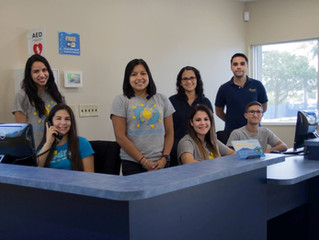 One Day at Ocaquatics: Front Desk Team Members
