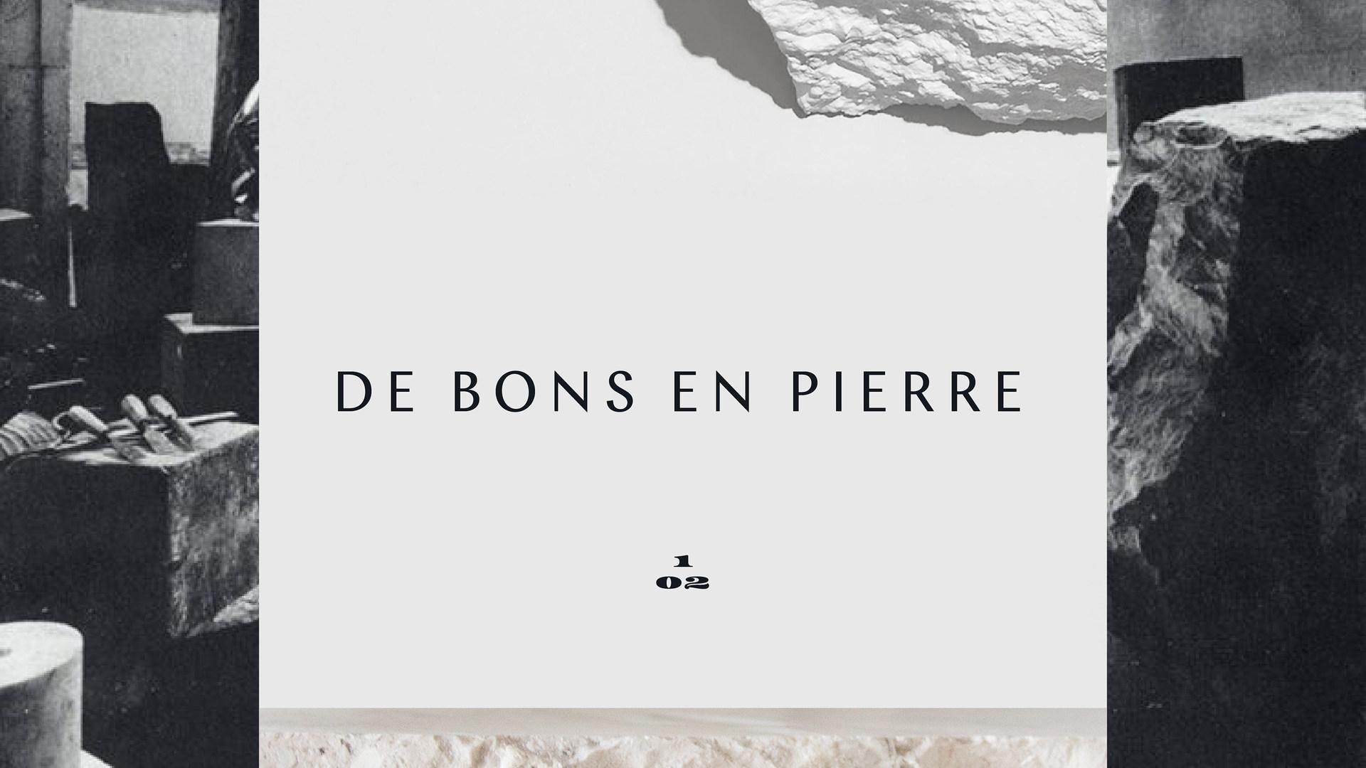 De Bons en Pierre is a sculpture studio based in Paris.