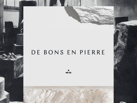 De Bons en Pierre is a sculpture studio that commissions local and international artists to create the most stunning and unexpected artworks, under our artistic direction based in Paris.  Read more ↓