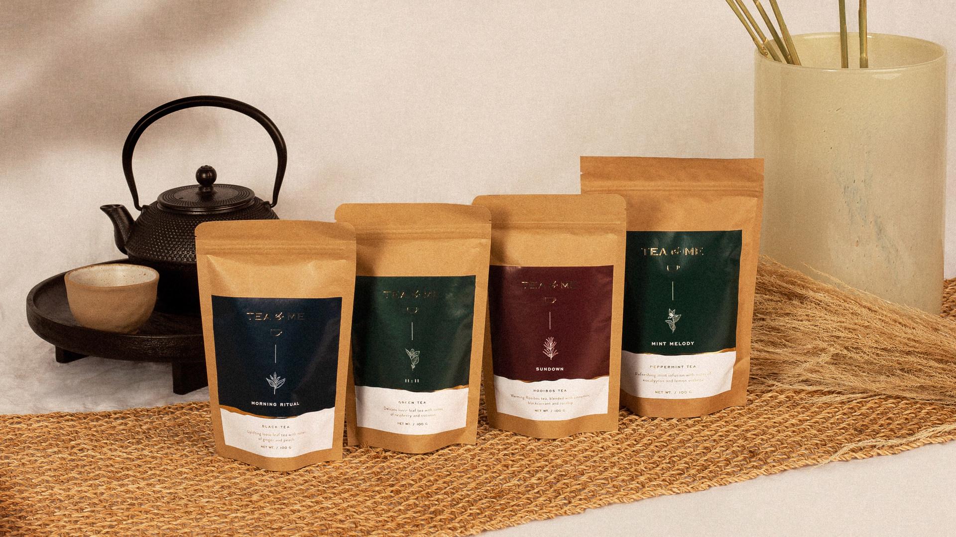 Tea&Me is a London-based company of organic, loose-leaf teas.