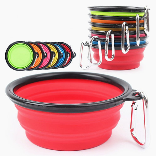Collapsible Bowl - Large Solid Color