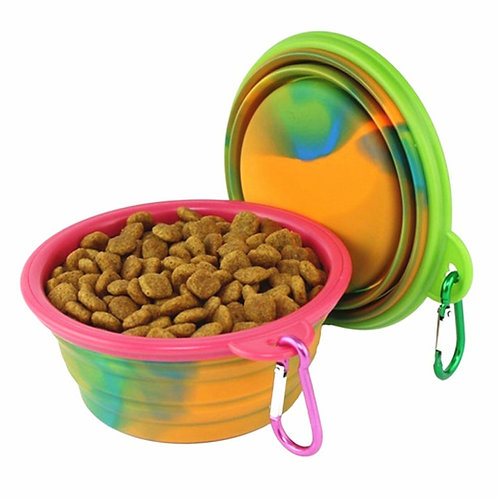 Collapsible Bowl - Small/Medium - Multi Color