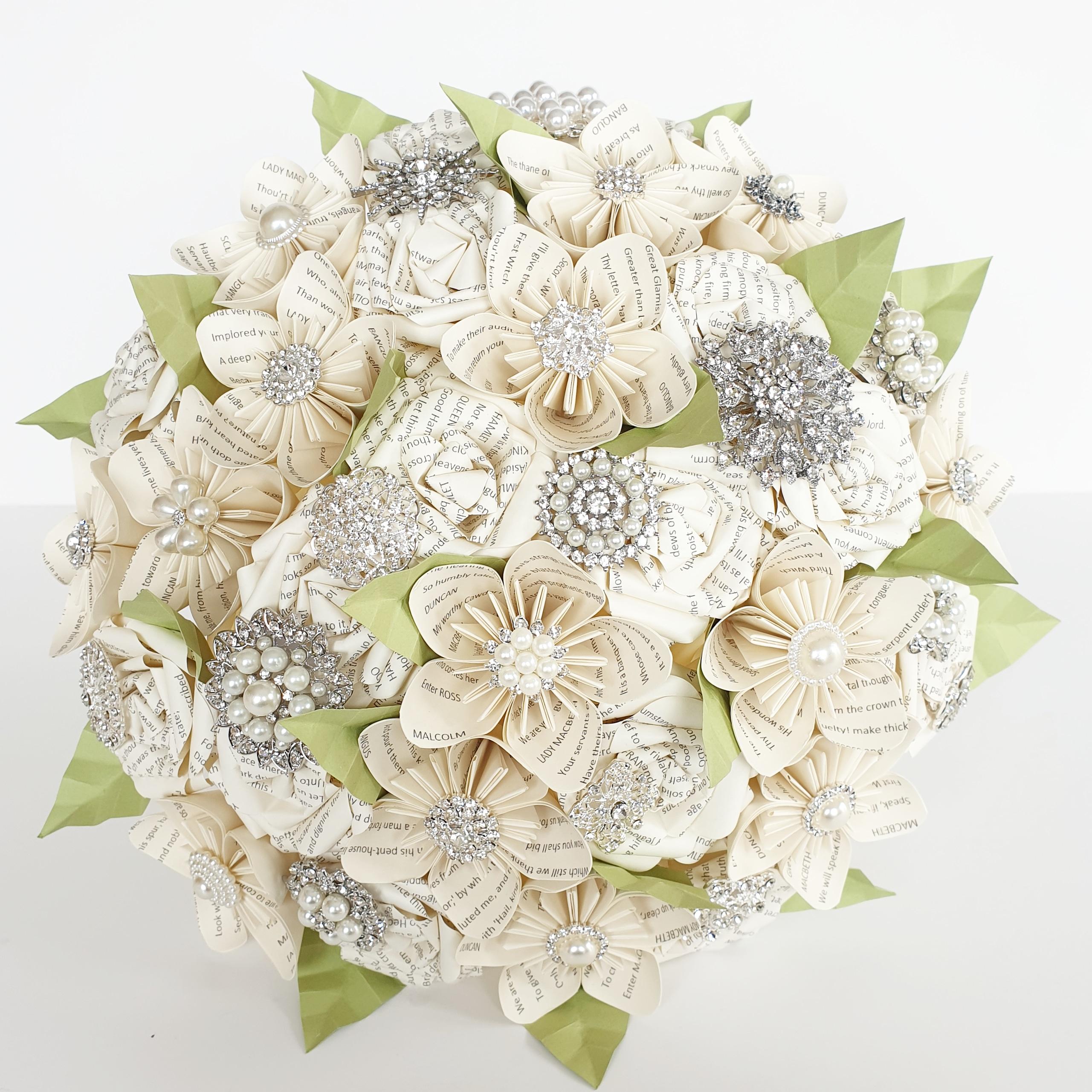 Paper flower Bouquet Wedding UK