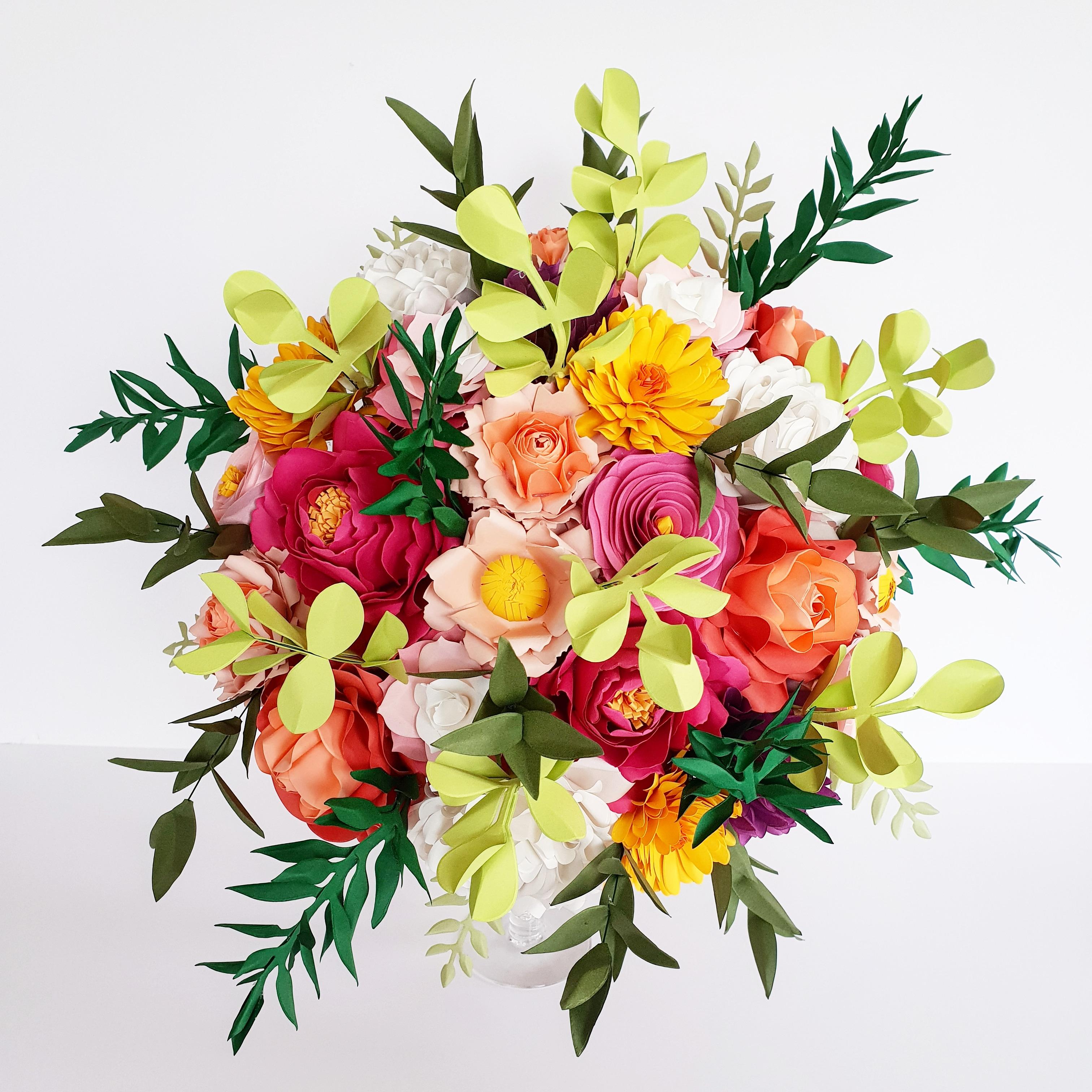 Giant Paper Bouquet