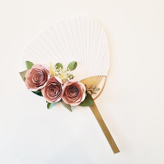 Rose Hand Fan