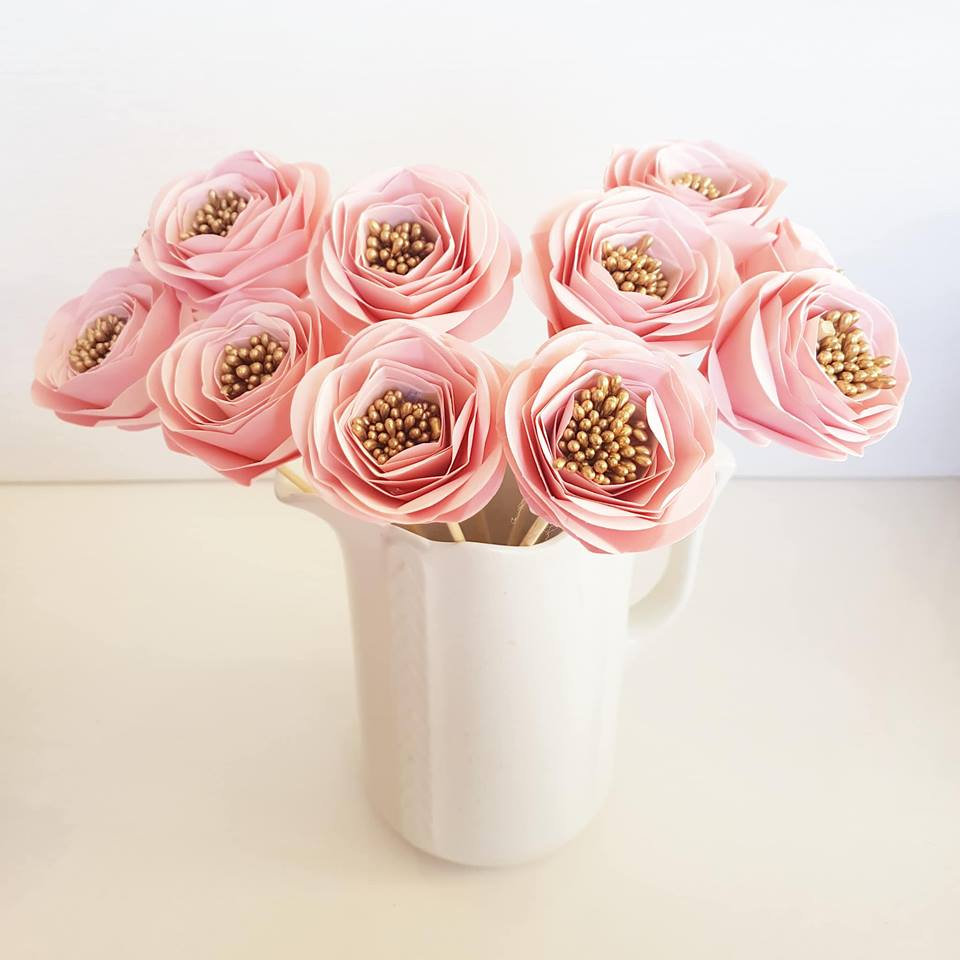 Paper Rose Decoration