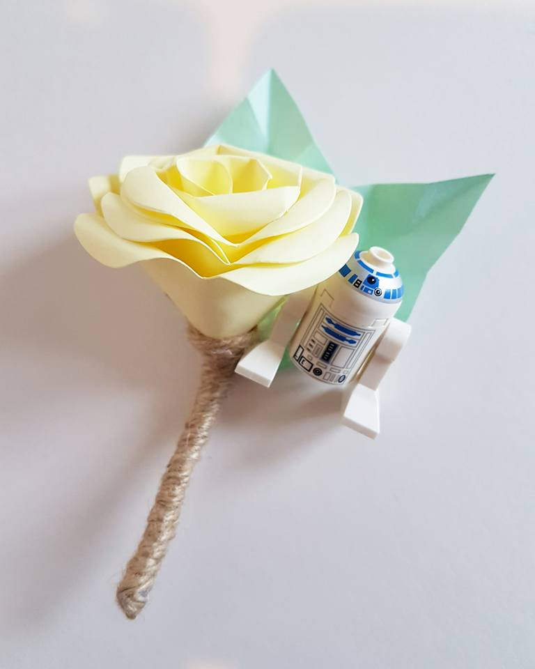 Star Wars Buttonhole