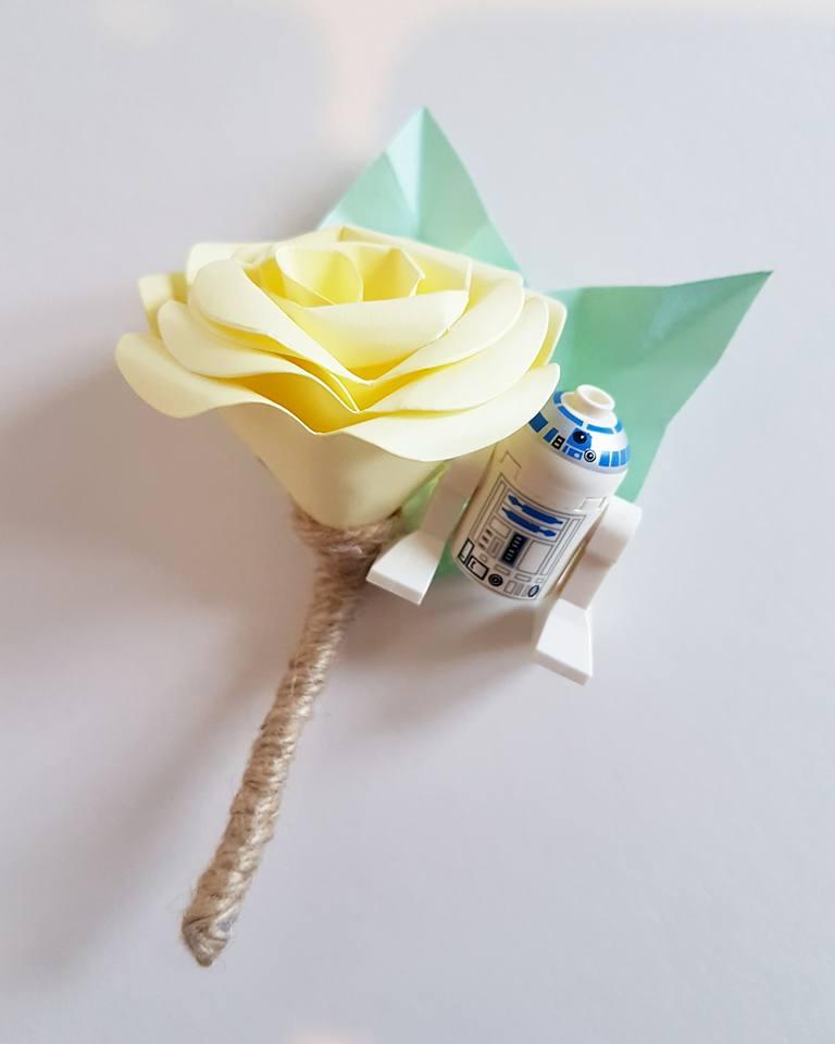 Star Wars Buttonhole