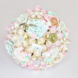 Pastel Harry Potter Wedding Bridal Bouquet