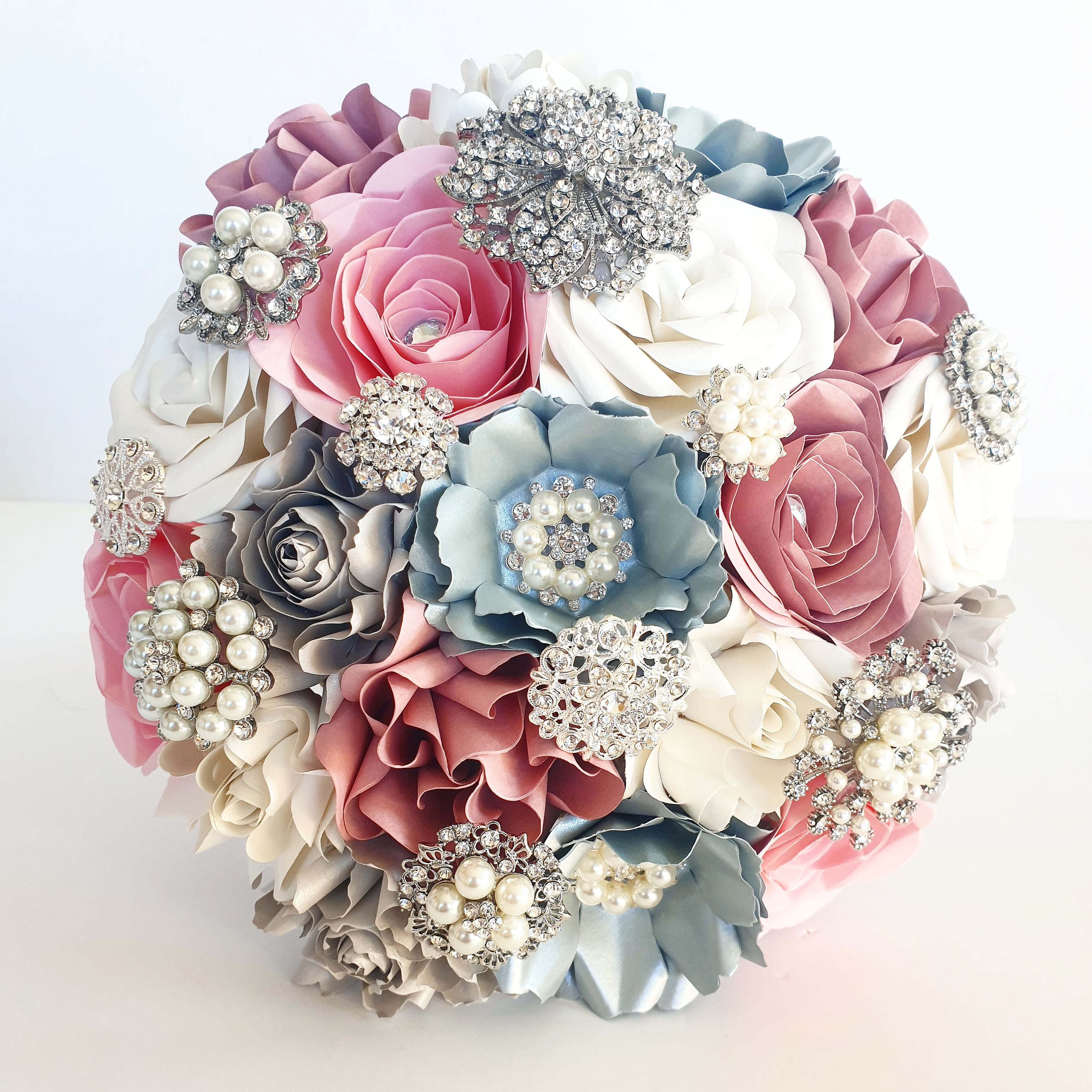 Paper Flower wedding Bouquet UK