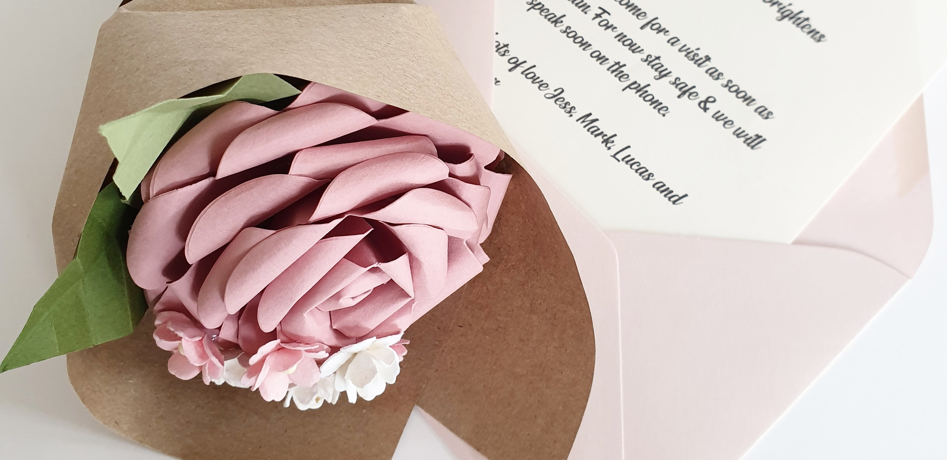 Send Paper Flowers during COVID
