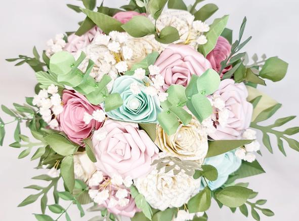 Paper Flowers Spring Wedding