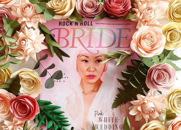 Paper Flower Rock n Roll Bride Cover