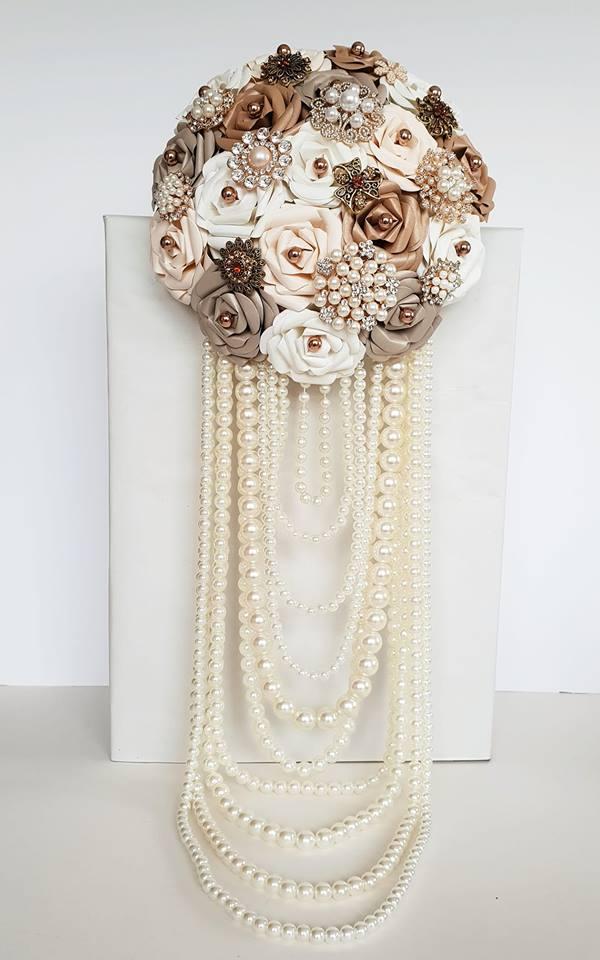 Pearl cascade Bouquet