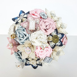 Harry Potter theme wedding paper flower bouquet