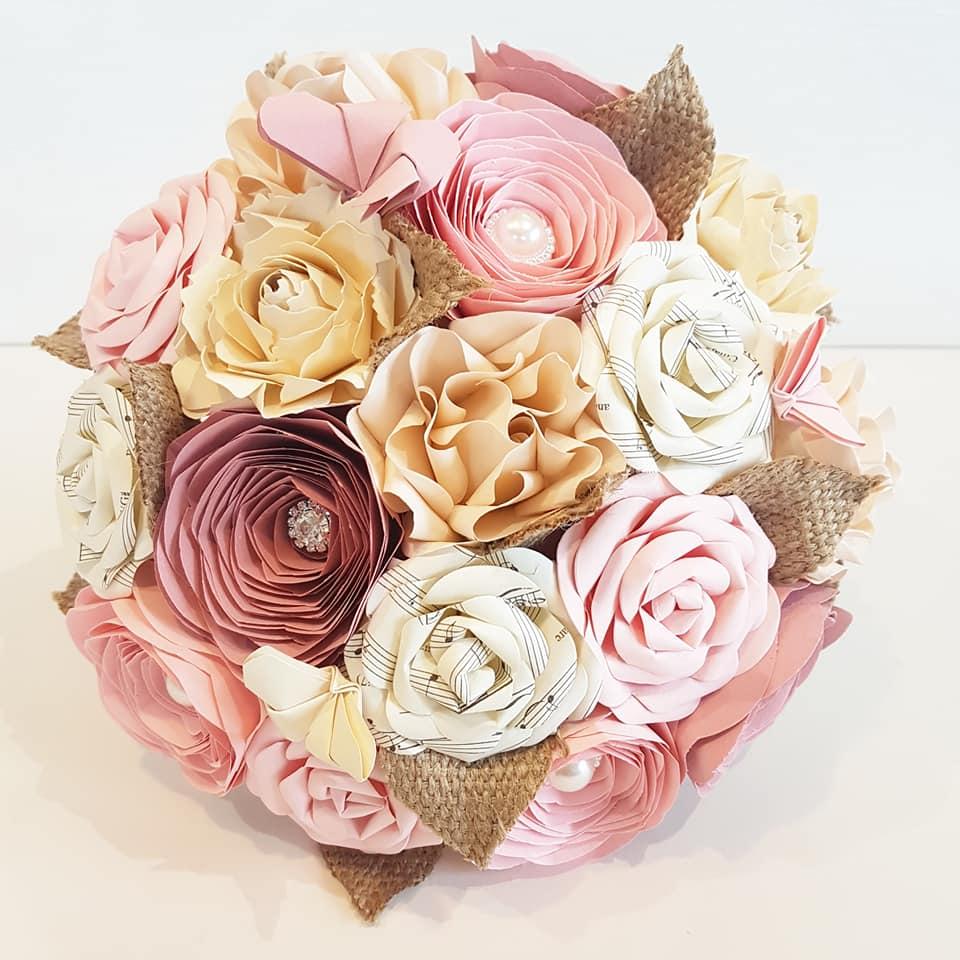 Rose Garden Paper Flowers