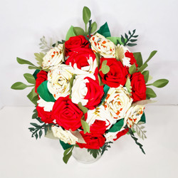 Alice theme wedding bouquet