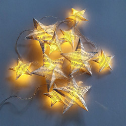 Paper Stars LED Garland Light