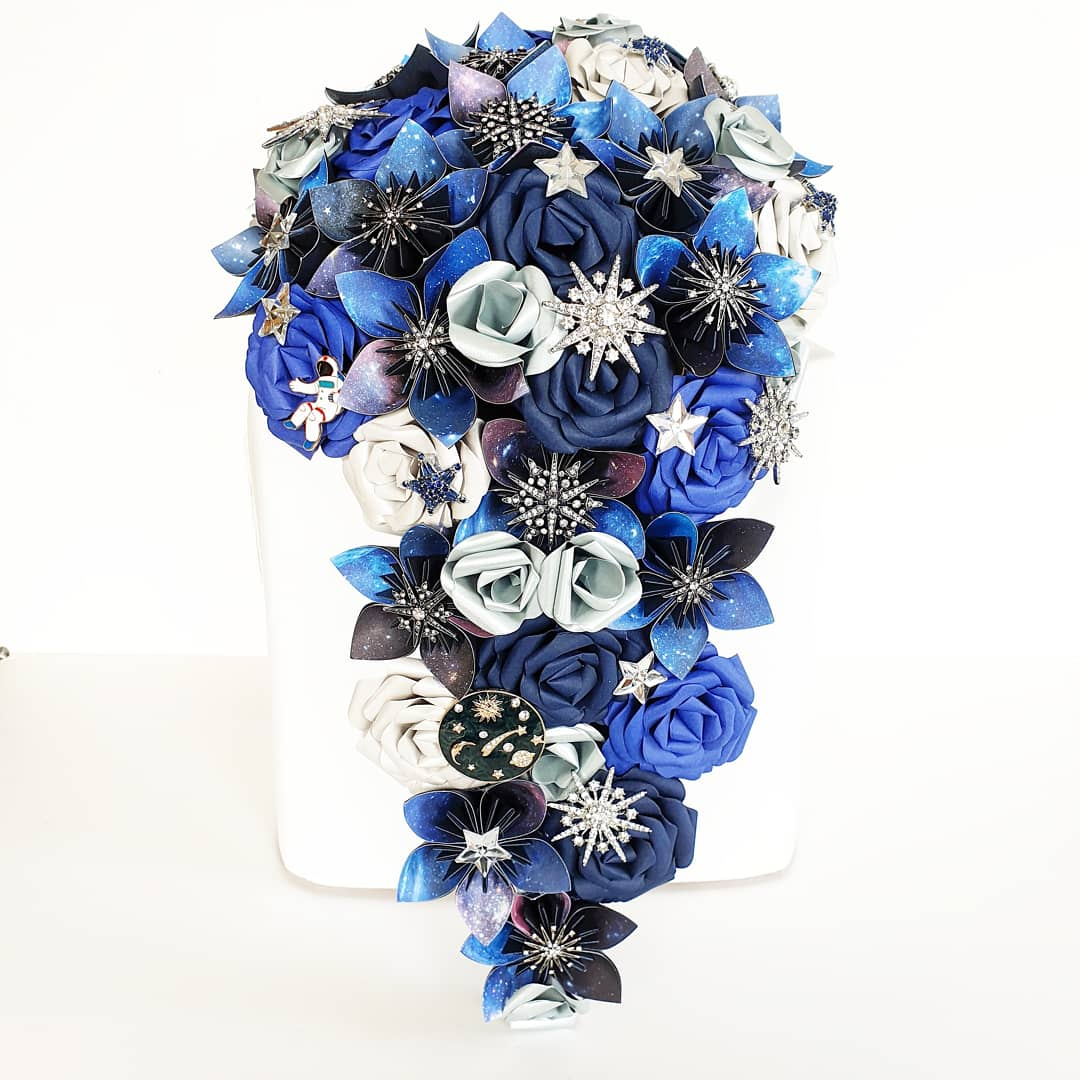 Celestial Bouquet wedding theme bridal flowers