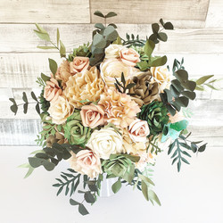 Paper Flower Bouquet wedding bridal