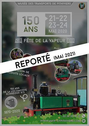 150 ans reportés 2020