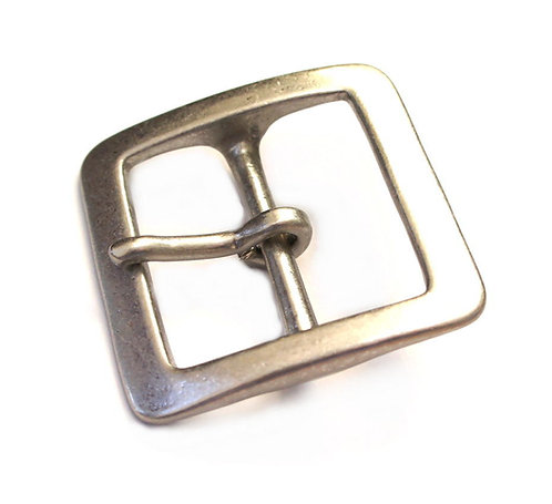 10pcs Wholesale 40mm Square Buckle [ Brass / Matte Silver ] Smoky Sumi's Store