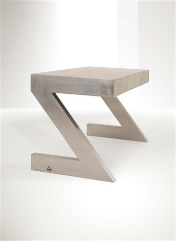 Z Desk by Gabriella Crespi. Steel and timber, 1974. Source: Artnet.com