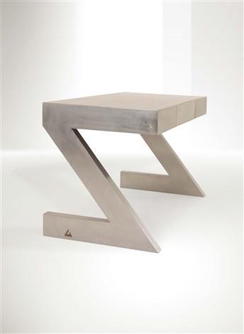 Z Desk by Gabriella Crespi. Steel and timber, 1974. Source: Artnet.com