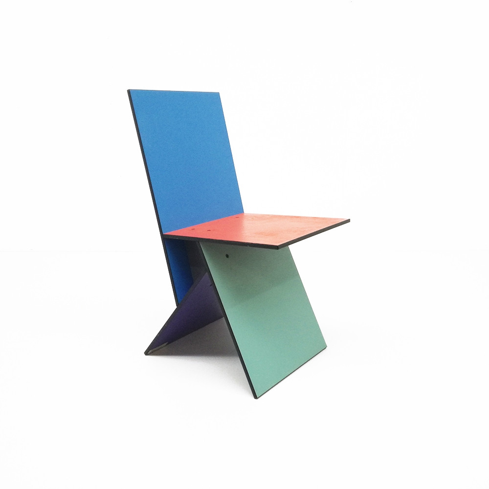 Vilbert dining chair by Verner Panton for IKEA, 1990's. Image courtesy of vntg.com.