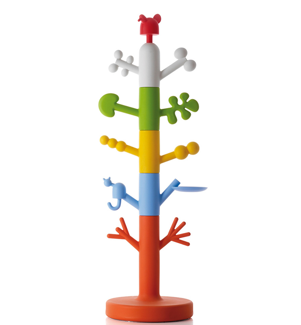 Magis paradise tree coat stand. Designed by Oiva Toikka, 2009. Image courtesy of hivemodern.com.
