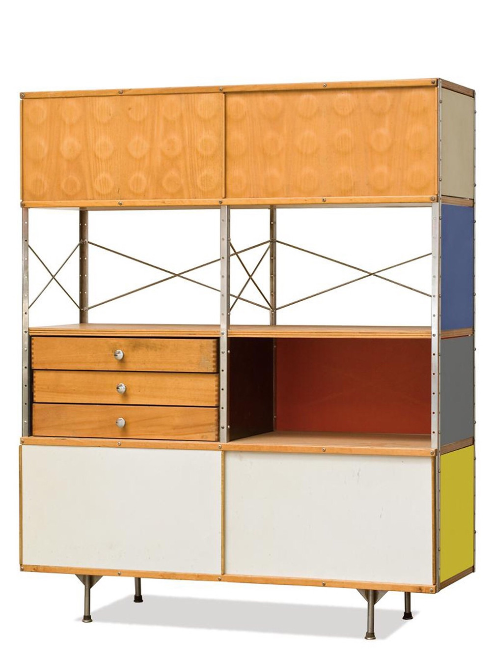 Storage Unit by Charles & Ray Eames - image source Pinterest