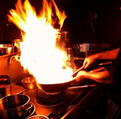 wok flame