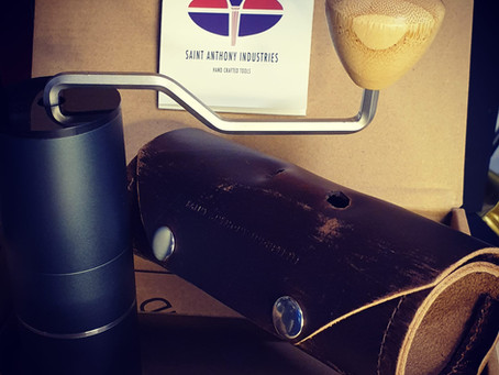 Possibly one of the best manual coffee grinder from Saint Anthony Industries