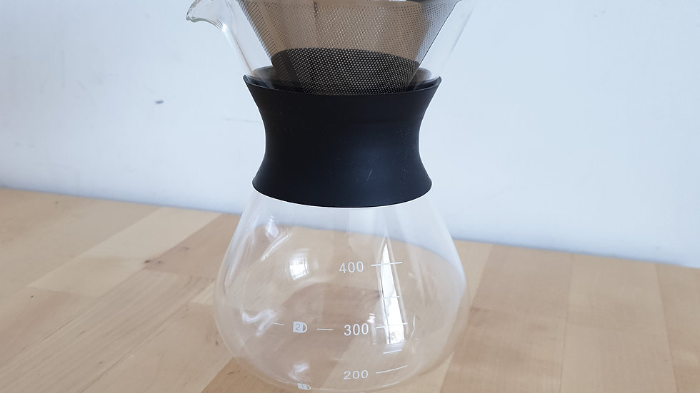 400ml Chemax Style Glass Pot