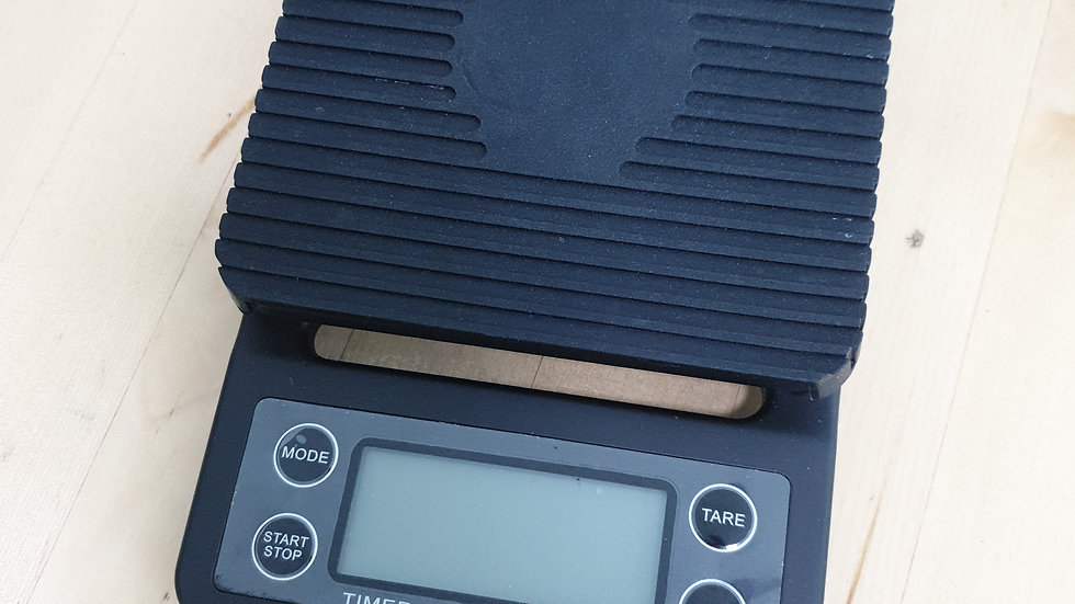 Digital coffee scale with build in timer