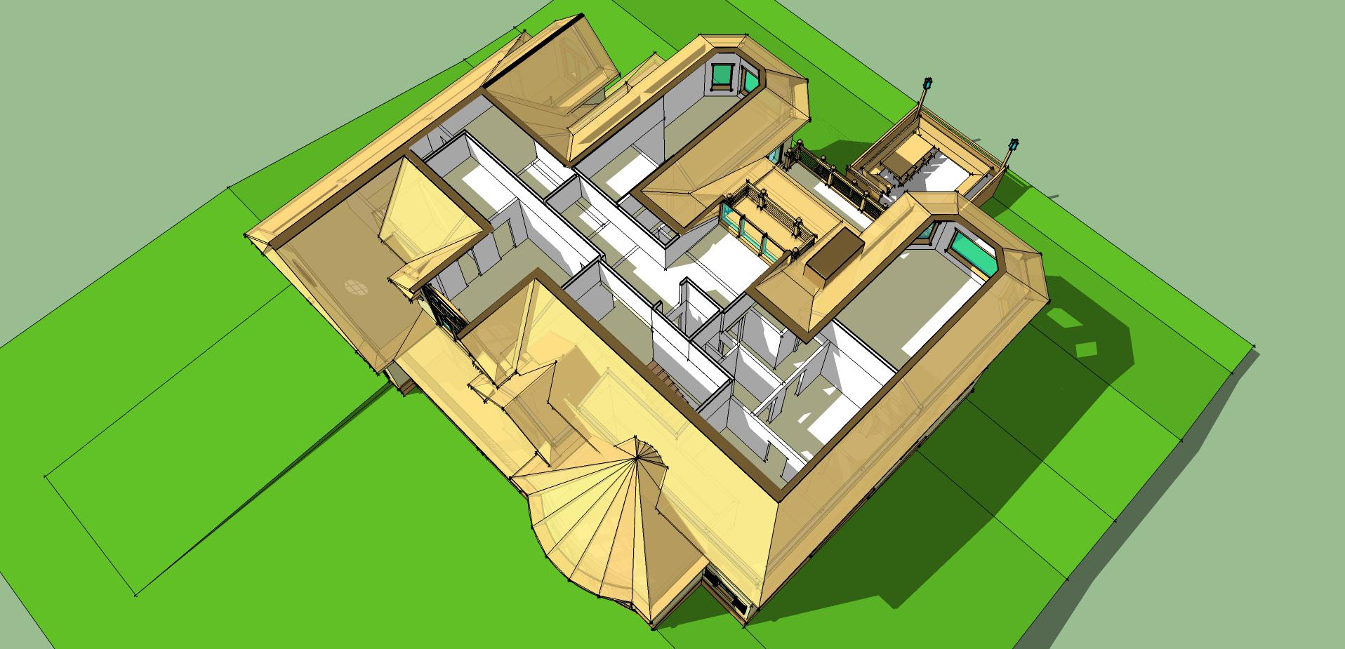 Plan Floor Attic