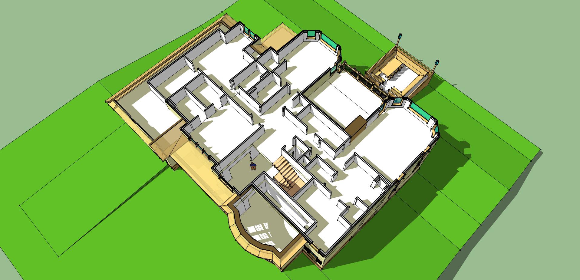 Plan Floor Second