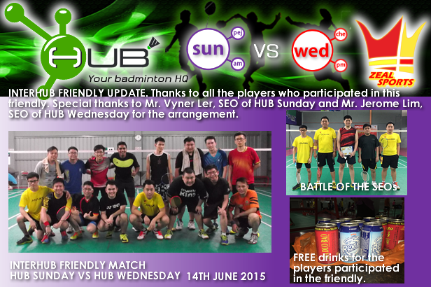 HUB Sunday VS HUB Wednesday (14-06-2015).png