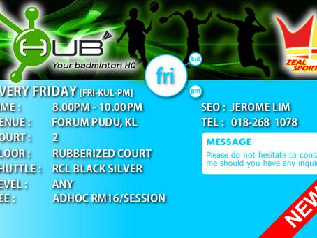 HUB Friday Session [FRI-KUL-PM]