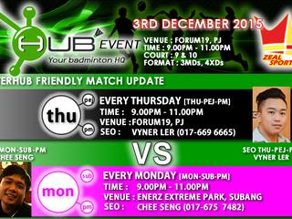 INTERHUB Friendly Match Update