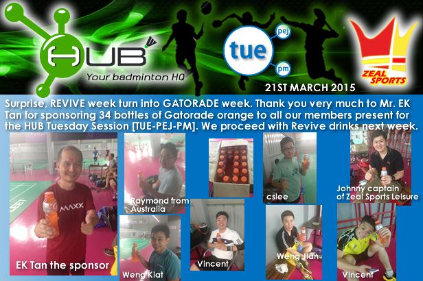HUB Tuesday Gatorade (21-04-2015).png