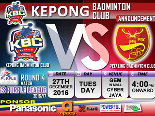 KEPONG BC (Announcement)