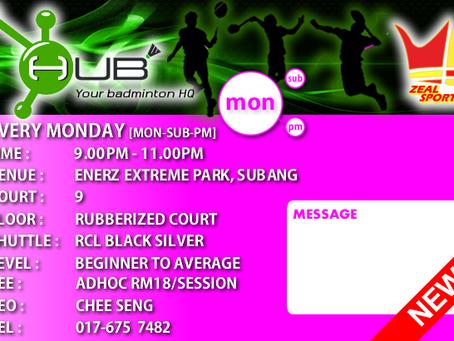 HUB Monday Session [MON-SUB-PM]