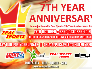 ZEAL SPORTS (Announcement)