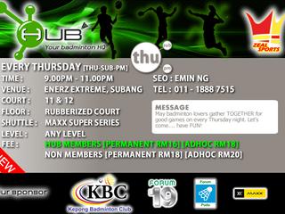 HUB Thursday Session [THU-SUB-PM]