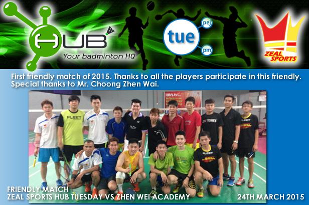 HUB Tuesday VS Zhen Wei Academy (24-03-2015).png