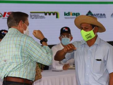 Gobierno de Panamá anuncia Plan Agro Solidario como apoyo al sector